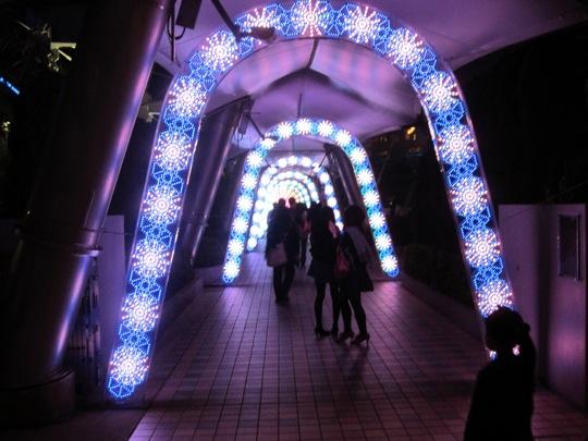 Passage lumineux
