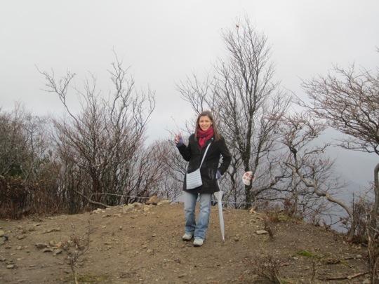 Pose Sommet Mont Bunagatake
