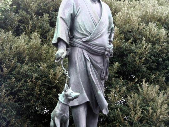 statue Saigô Takamori