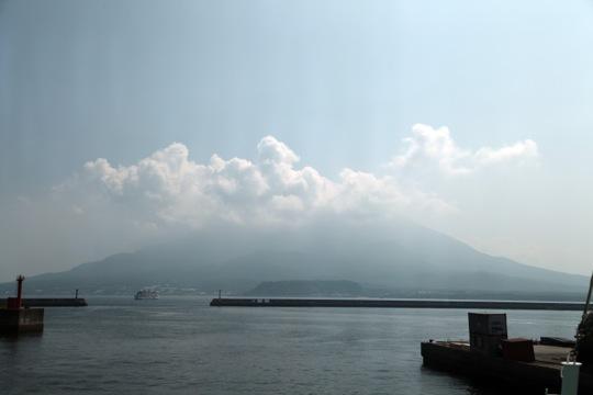 Sakrajima vue du ferry