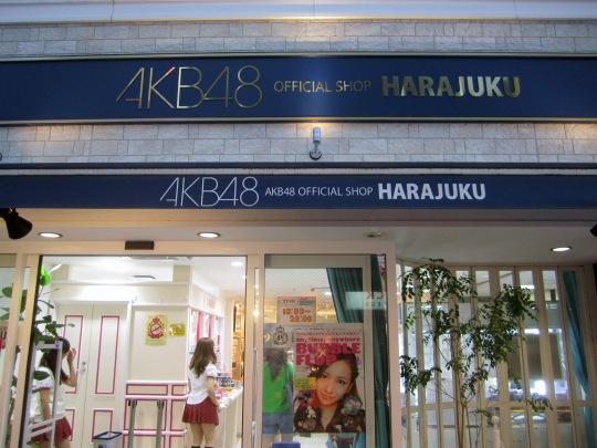 AKB48 Shop Harajuku