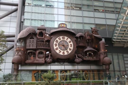Horloge Ghibli