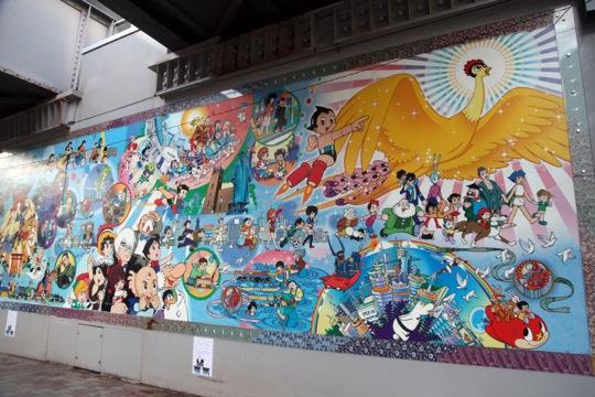 Tezuka fresque