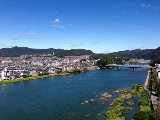 vue inuyama castle