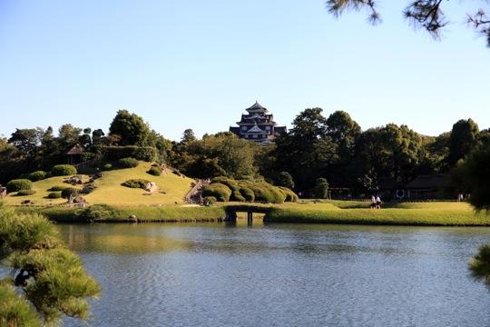 chateau Korakuen garden